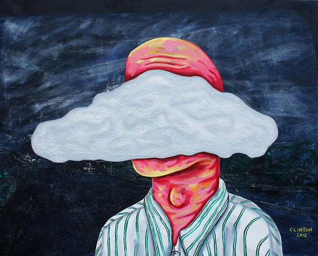 Clouded. Oil on canvas. 152x122cm. 2013