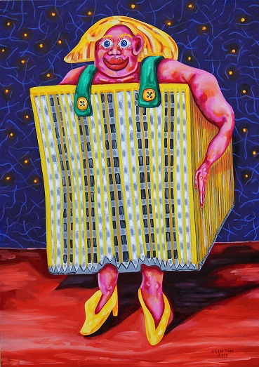 Miss City Hospital. Oil on canvas. 90x130cm. 2014